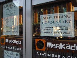 Mercado is closing Commissary is coming.