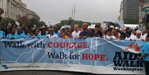 DC AIDS Walk 2007 kick-off (photo from DC AID Walk Web site).