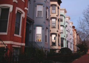 1300-block of Q Street NW. (Photo from Luis Gomez, One Photograph A Day.)