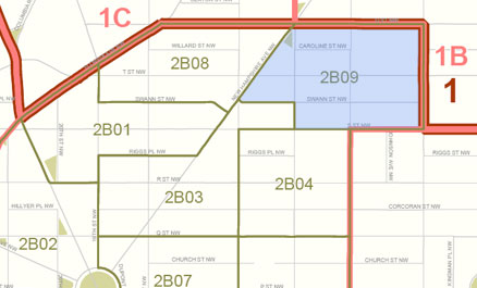 ANC 2B-09 district. (Image from Greater Greater Washington blog.)
