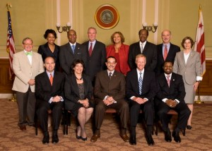 The D.C. Council has a redesigned Web site. (Image from D.C. Council Web site).