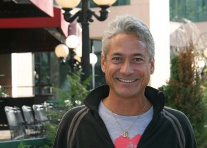 Greg Louganis was Grand Marshall of the DC AIDS Walk 2008. He is an Olympic diving Gold Medalist and has been living with HIV for many years.