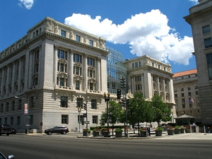 The Wilson Building is home to the D.C. City Council. (Photo from D.C. Council Web site.)
