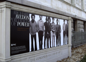 "Corcoran Gallery of Art--""Portraits of Power,"" a collection of Richard Avedon photographs, closes January 25."