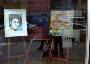 Plan B Gallery is in Borderstan at 1530 14th Street NW.