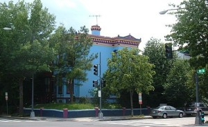 The southwest corner of 15th and R NW. (Photo by WasWoWashington on Panoramio.)