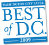 "Vote online for the ""Best of DC 2009"" in the City Paper's annual reader's poll. (Image: Washington City Paper Web site.)"
