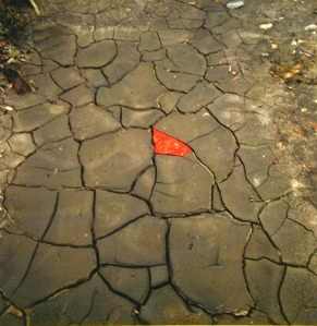 """Refuges D'Arts"" by Andy Goldsworthy. (Image: gallery plan b.)"