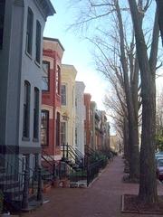 The 1500-block of Swann Street NW. (Photo: WasWoWashington at Panoramio on Google Maps.)