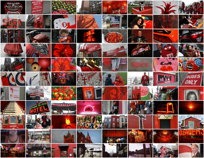 "A slideshow, ""Red Photos,"" by Luis Gomez at One Photograph A Day."