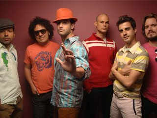 Venezuelan band Los Amigos Invisibles at the 9:30 Club, 815 V Street NW.