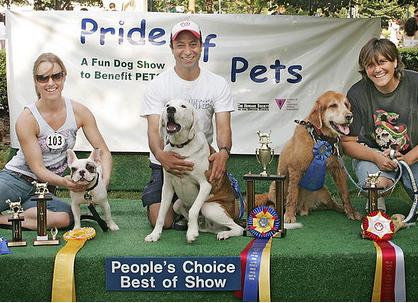 Saturday: The 16th Annual Pride of Pets on Dupont Circle.