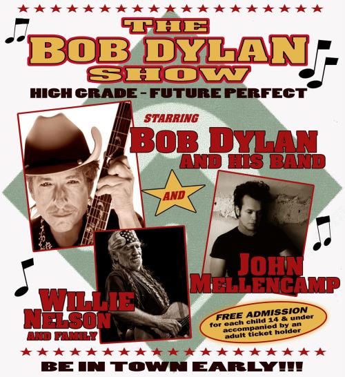 The Bob Dylan Show at The Ripken Stadium