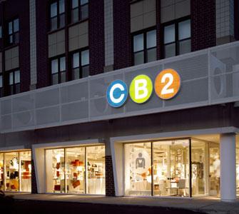 a crate barrel cb2 store at 14th r borderstan. Black Bedroom Furniture Sets. Home Design Ideas