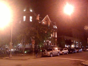"Thursday night: Snaps to ""The Anti-Real World DC"" for this photo of the RWDC house at 2000 S Street NW."