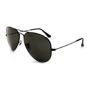 Aviator-style sunglasses from Rayban. (Image: amazon.com)