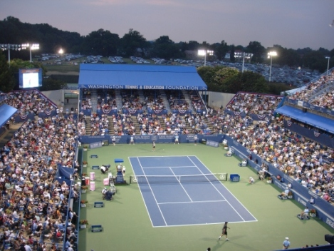Legg Mason Tennis Classic, August 1 - 9, William H.G. FitzGerald Tennis Center in Rock Creek Park