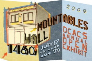"""1460 Wallmountables 2009"" at the DC Arts Center, 2438 18th Street, NW. (Image: DC Arts Center)"