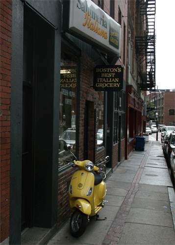 Hanover Street in Boston's Little Italy. (Photo: Luis Gomez, One Photograph A Day.)