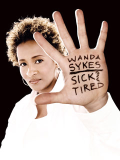 """Wanda Sykes"" at the Warner Theatre, 1299 Pennsylvania Ave. NW. (Image: Wanda Sykes)"