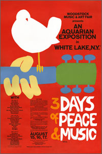 """Woodstock at 40: The Rise of Music Journalism"" at the Newseum, 555 Pennsylvania Ave., NW. (Image: Newseum Website)"