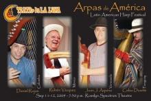 Latin American Harp Festival, at Rosslyn Spectrum, 1611 North Kent Street, Arlington, VA (Image:www.arlingtonarts.org)