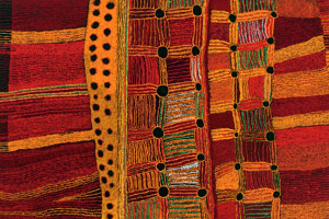 Australian Indigenous Art Triennial: Culture Warriors at the Katzen Arts Center, 4400 Massachusetts Ave. (Image:www.american.edu)