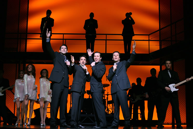 """Jersey Boys"" at the National Theatre, 1321 Pennsylvania Avenue, NW. (Image:www.nationaltheatre.org)"