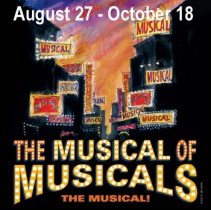 "The Musical of Musicals"" at The Arena Stage, 1201 North Royal Street, Alexandria, VA. (Image:www.metrostage.org)"