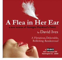 """A Flea on her Ear"" at the Source Theater, 1835 14th St NW.(Image:/www.sourcedc.org)"