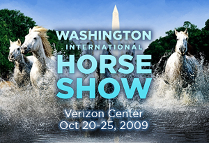 Washington International Horse Show at the Verizon Center, 601 F Street NW. (Image: www.wihs.org)