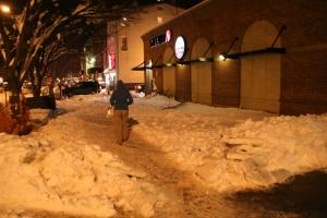 snowpocalypse, snowmageddon, Luis Gomez Photos, 17th Street NW, Dupont Circle