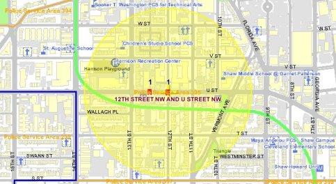 U Street corridor dc crime