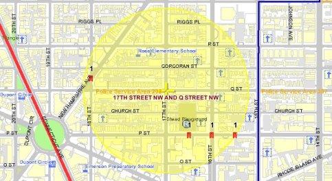 Borderstan 17th Street NW Dupont Circle dc crime
