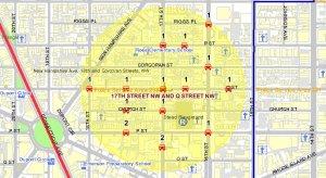 Borderstan 17th Street NW MPD stolen autos