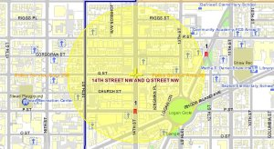 Borderstan Logan Circle crime 14th Street NW