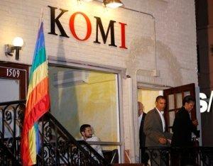 Borderstan Komi restaurant 17th Street NW Dupont Circle Obama